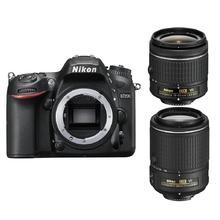 Nikon D7200 + 18-55 AF-P VR + 55-200 VR II