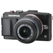 Olympus PEN E-PL6 + 14-42mm II R objektív, fekete