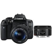 Canon EOS 750D + EF-S 18-55 IS STM + EF 50 f1,8