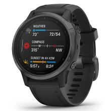 Garmin Fenix 6S Pro black/black band
