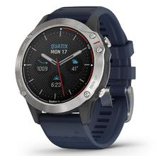 Quatix® 6 Gray with Captain Blue Band