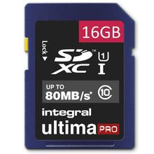 Integral Ultima PRO SDHC 16GB Class 10, bulk