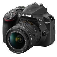 Nikon D3400 + 18-55 mm AF-P VR + 55-200 mm VR II