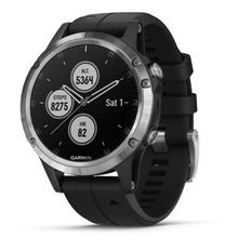 Garmin fenix5 Plus Silver, Black Band
