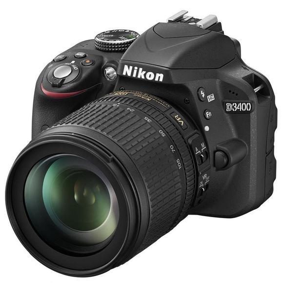 Nikon D3400 + 18-105 VR  - 1