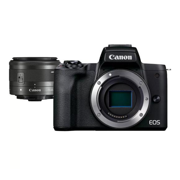Canon EOS M50 Mark II Black+ EF-M 15-45 mm IS STM  - 1