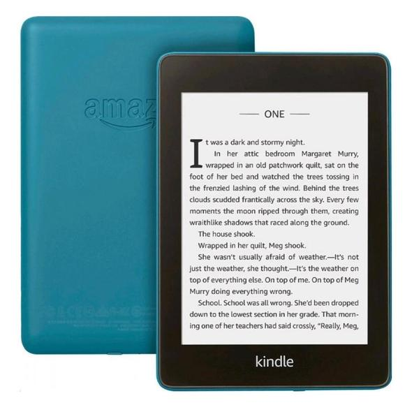 Amazon Kindle Paperwhite 4 2018, 8GB Waterproof with ads, Blue  - 1
