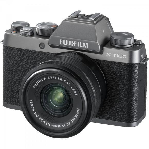 Fujifilm X-T100 ezüst + XC 15-45mm f/3.5-5.6 OIS PZ  - 1