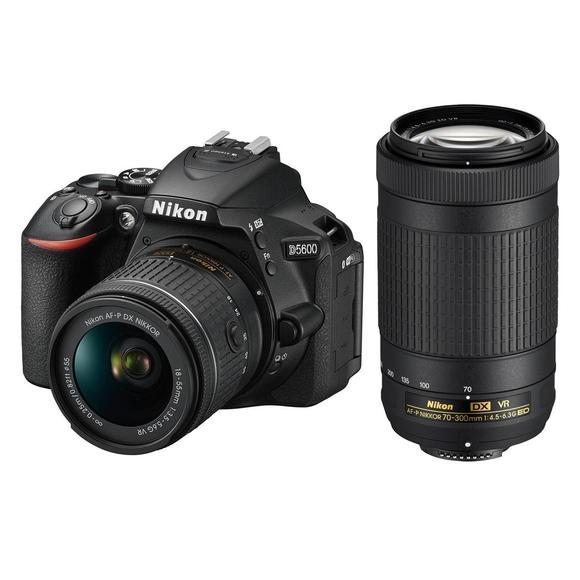 Nikon D5600 + 18-55 AF-P VR + 70-300mm AF-P DX VR  - 1