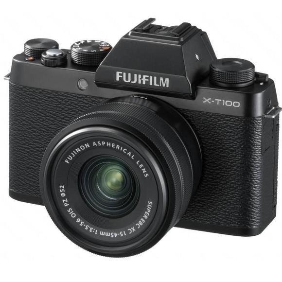 Fujifilm X-T100 fekete  + XC 15-45mm f/3.5-5.6 OIS PZ  - 1