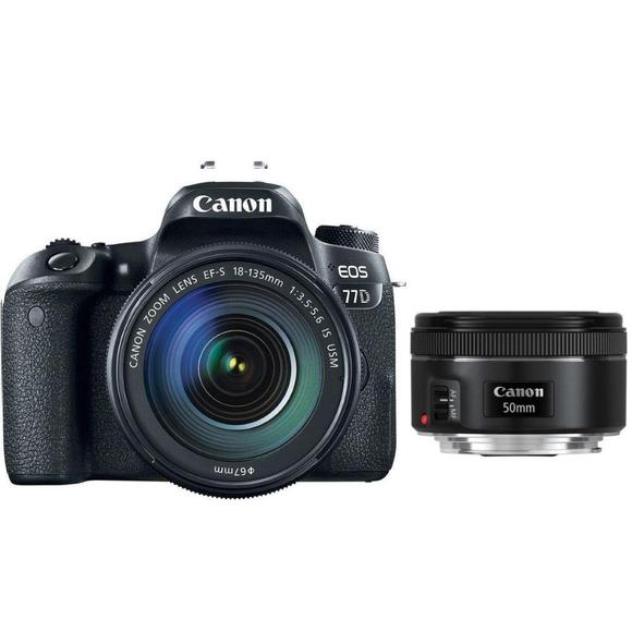 Canon EOS 77D + EF-S 18-135 IS USM + EF 50 f/1,8  - 1