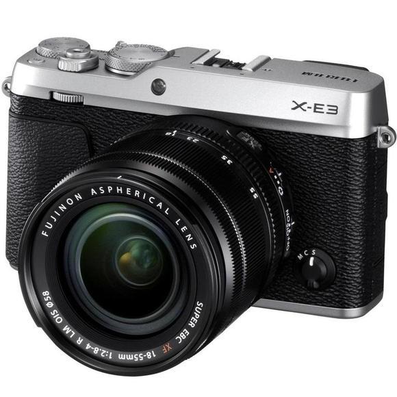 Fujifilm X-E3 + XF 18-55 ezüst  - 1