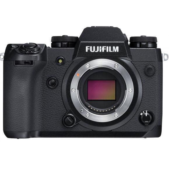 Fujifilm X-H1 fekete test  - 1
