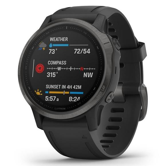 Garmin Fenix 6S Pro black/black band  - 1
