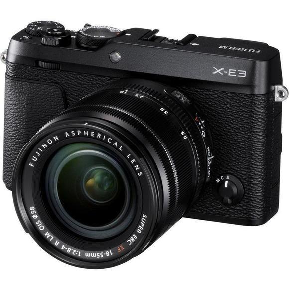 Fujifilm X-E3 + XF 18-55 fekete  - 1