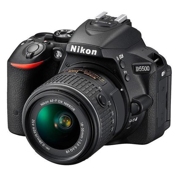 Nikon D5500 + 18-55 AF-P VR + 55-200 mm VR II  - 1