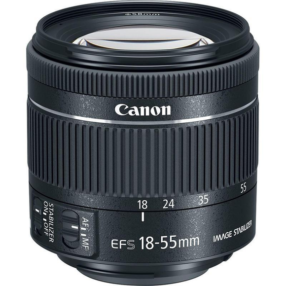 Canon EF-S 18-55mm f/4-5.6 IS STM  - 1