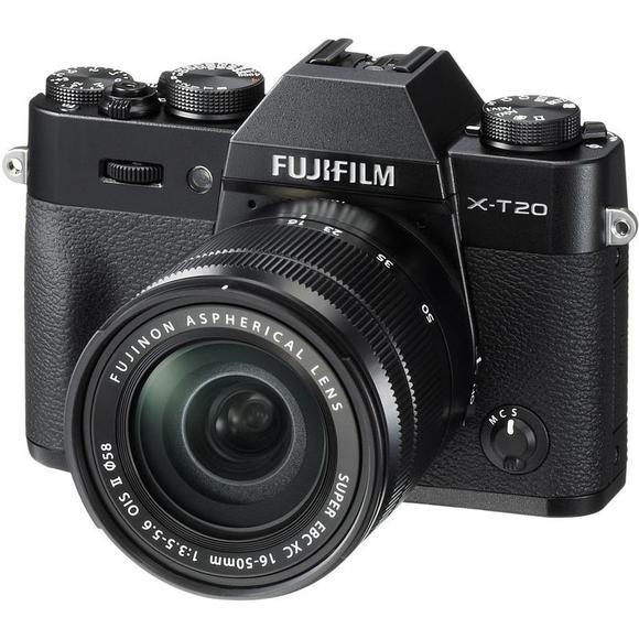 Fujifilm X-T20 fekete+ 16-50 mm II  - 1
