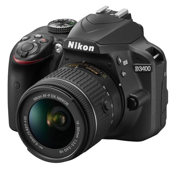 Nikon D3400 + 18-55 mm AF-P VR + 55-200 mm VR II  - 1