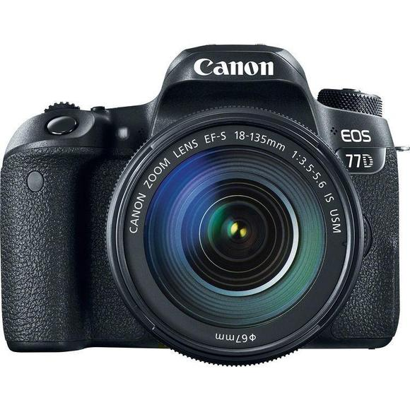 Canon EOS 77D + EF-S 18-135 IS USM  - 1